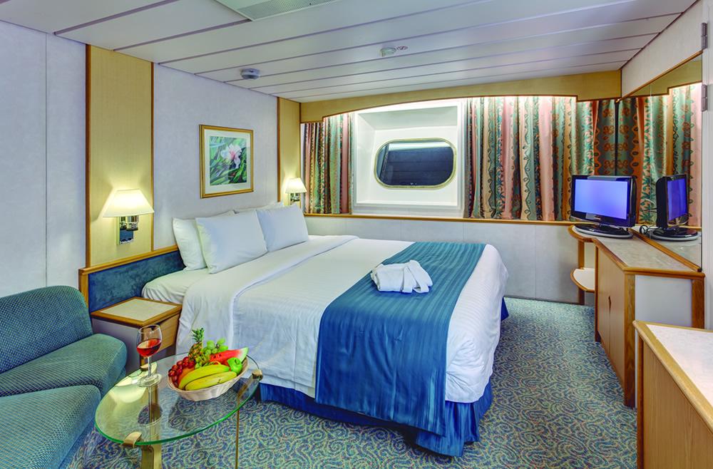 Diversas opções de cabines no Monarch Pullmantur