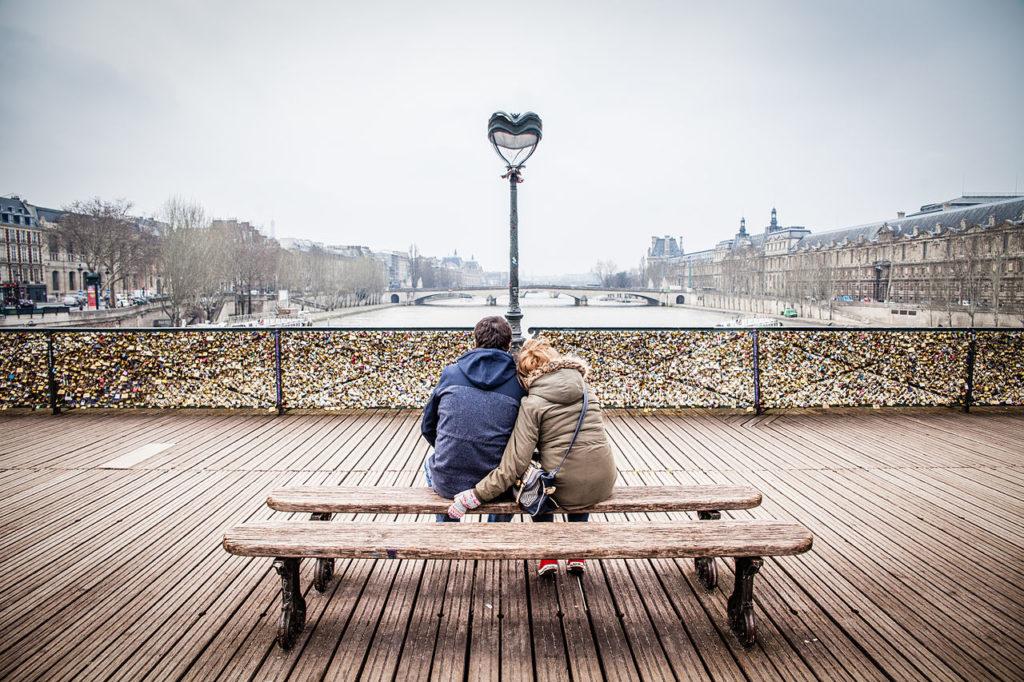 Paris é cidade dos apaixonados!