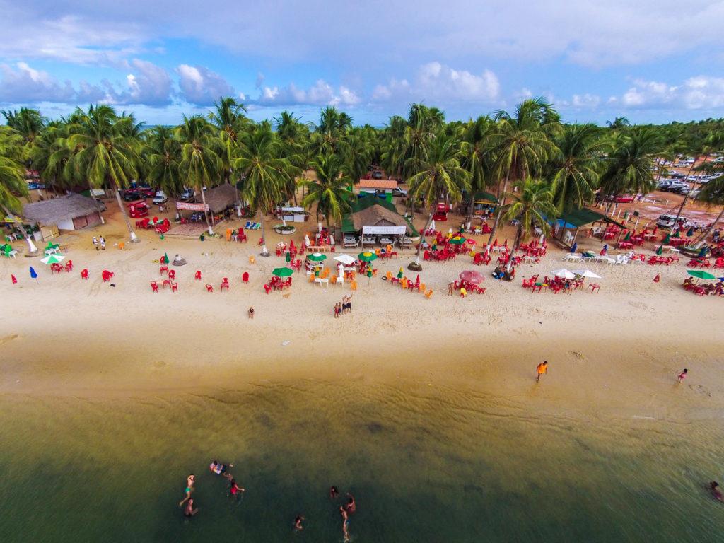 Desfrute da Praia do Gunga