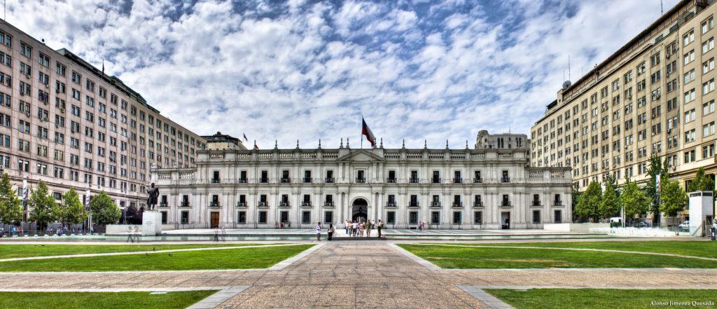 Palácio de La Moneda, uma das atrações mais famosas de Santiago