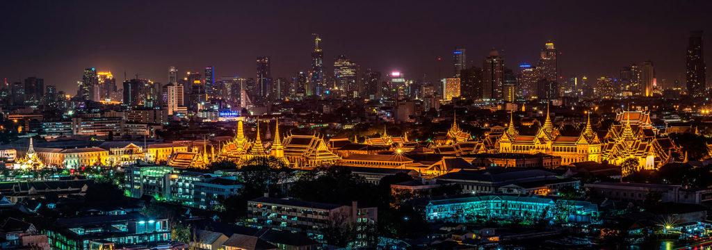 Grande Palácio Real, construído em 1782 para ser a residência da família real tailandesa